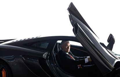 Frank Stephenson, creativo de McLaren.