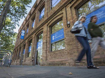 Sede del Instituto de Formación Continua IL3-UB en Barcelona