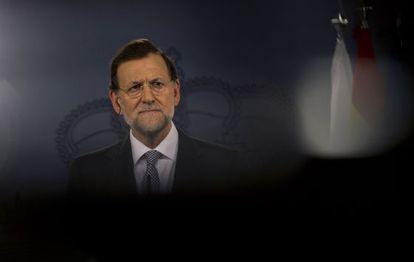 El presidente Mariano Rajoy