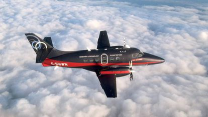 El Jetstream 31 de BAE.