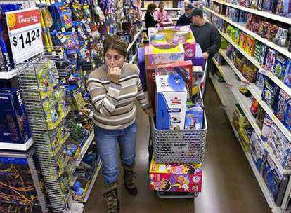 Wal-Mart es una de las cadenas de supermercados más importantes en Estados Unidos. En la fotografía, uno de sus locales de Woodstock (Georgia).