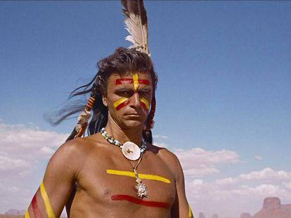 Scar, el jefe comanche de 'Centauros del desierto', de John Ford.