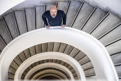 Pepe Mompeán, en la sede de consejería de Cultura de la Comunidad de Madrid.