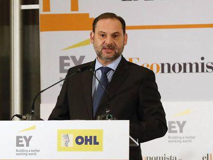 José Luis Ábalos, este martes en El Ágora de 'elEconomista'.