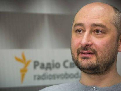 El periodista y escritor ruso Arkadi Babchenko, en una imagen de archivo.