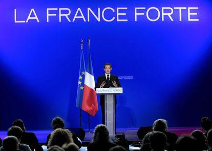 El presidente y candidato francés, Nicolas Sarkozy, presenta hoy en París su programa de Gobierno para el próximo quinquenio si es reelegido.