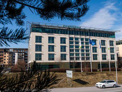 Sede del Centro Europeo para la Prevención y el Control de Enfermedades (ECDC), en Solna (Suecia).
