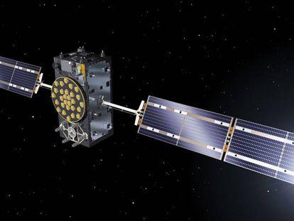 Uno de los satélites de Galileo.