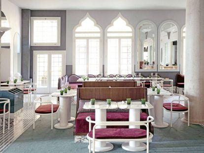 Restaurante del hotel Il Palazzo Experimental de Venecia.
