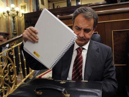 El presidente del Gobierno en el debate del estado de la nación de 2011