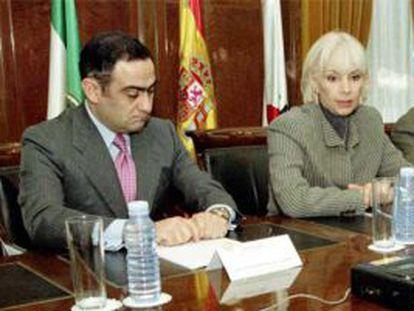 Manuel Rodríguez de Castro y Teófila Martínez.