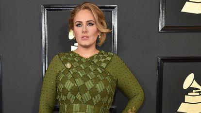 La cantante Adele, en Los Ángeles (California, EE UU), en 2017.
