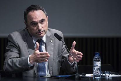 El director del Consorcio del Macba, Jaume Ciurana.