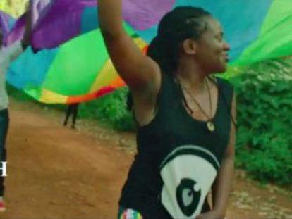 Ruth Muganzi, activista por los derechos LGTB en el país africano, aterriza en Madrid para participar en el World Pride.