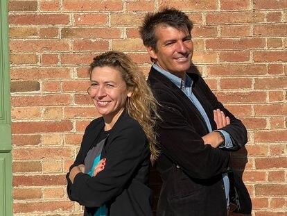 Carla y Javier Zaldua, socios de Accexible.