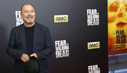 Ruben Blades a su llegada a la 'premiere' de la segunda temporada de 'Fear The Walking Dead'.