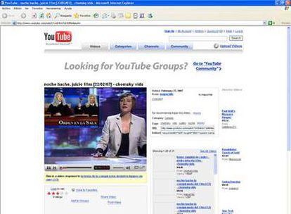 Imagen del programa <i>Noche Hache</i> (Cuatro), en YouTube.