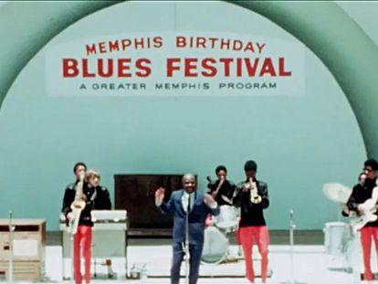 Una imagen del documental 'Memphis '69: the 1969 Memphis Country Blues Festival'.