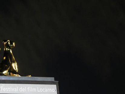 El Leopardo de Oro, uno de los premios del Festival de cine de Locarno.