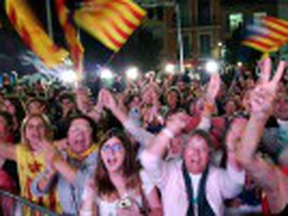 Junts pel Sí, la formación de Artur Mas, tendrá que pactar con la izquierda alternativa. Los soberanistas rozan, pero no alcanzan, la mayoría absoluta de votos