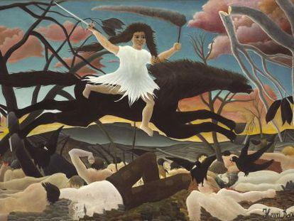 'La Guerre', 1894, de Henri Rousseau.