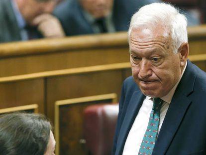 Acting Foreign Minister José Manuel García-Margallo.