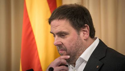 El vicepresidente Oriol Junqueras.