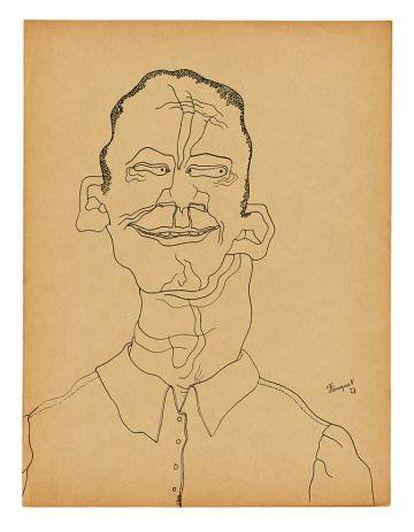 Los 'Retratos imaginarios' fueron realizados entre 1927 y 1931.