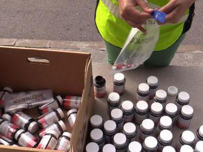 Operación policial para retirar 7.000 comprimidos de 'Thermatrim'