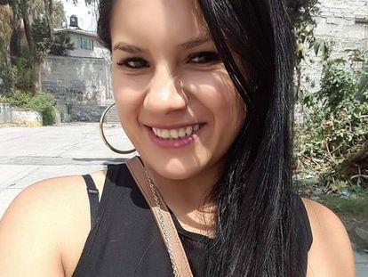 La joven peruana Mary Lucero Mescco, en una fotografía cedida por su familia.