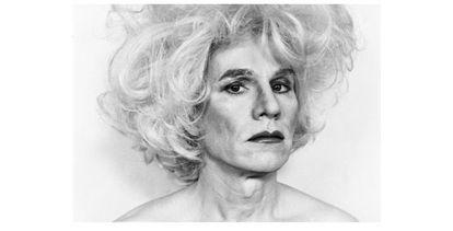 Warhol visto por Makos en 'Lady Warhol'.