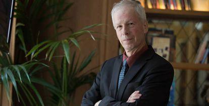 Stéphane Dion, en el Hotel Villa de la Reina, en Madrid.