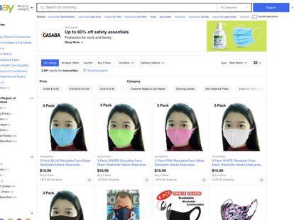 Papel higiénico a 80 euros: así se enfrenta eBay a la especulación desencadenada por la pandemia