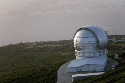El Gran Telescopio Canarias está situado en el observatorio de Roque de los Muchachos, en la isla canaria de La Palma.