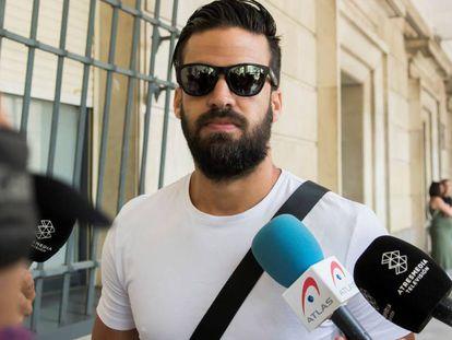 Antonio Manuel Guerrero, a su llegada el pasado día 13 al juzgado de guardia de Sevilla