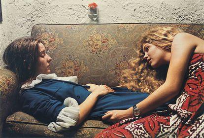 Sin título, 1974 (Karen Chatham, izq, con la tia del artista Lesa Aldridge, en Memphis, Tennessee)