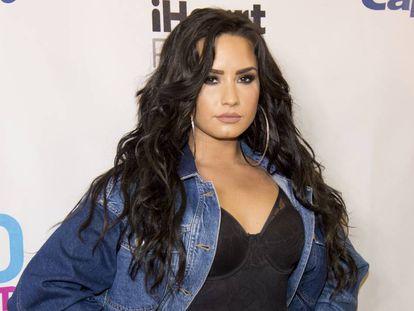 Demi Lovato en una entrega de premios en Miami en diciembre de 2017.