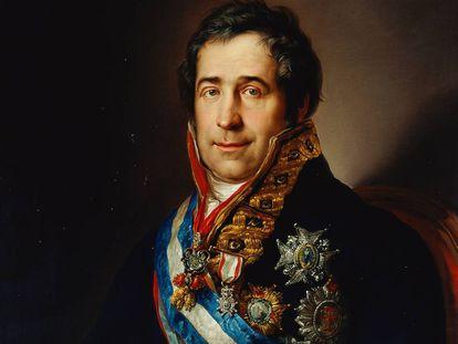'Francisco Tadeo Calomarde' (1831), obra de Vicente López Portaña.