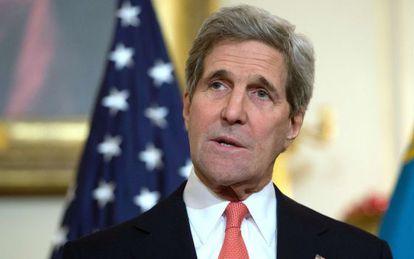 El secretario de Estado norteamericano, John Kerry
