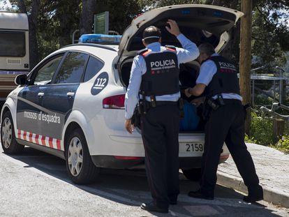 Una patrulla de Mossos d'Esquadra, en una imagen de archivo.