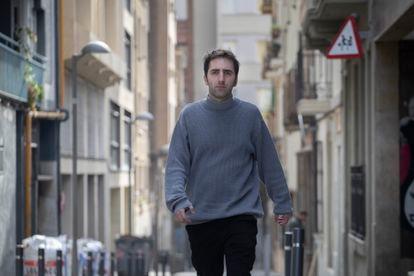 Xavi Buxeda, que fue agredido por los ocupantes de un piso turístico contiguo al suyo.