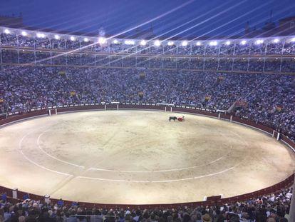 La plaza de Las Ventas, en tarde de corrida.