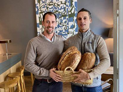 Alberto y Gudi Miragoli propietarios de la panadería 130 Grados. J.C. CAPEL