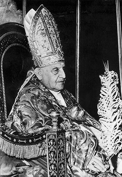 El papa Juan XXIII.