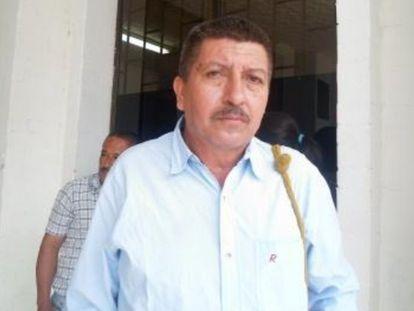 Marco Rivadeneira, líder social asesinado en Colombia en medio de la pandemia.
