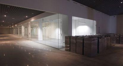 Interior del museo de las gemas de Málaga