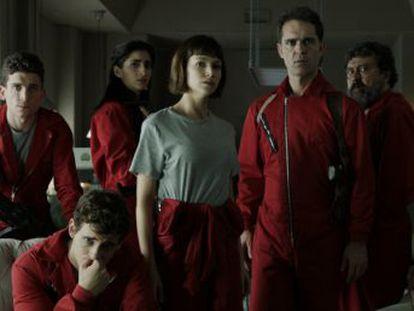 Antena 3 emite los últimos seis capítulos de la serie  La casa de papel