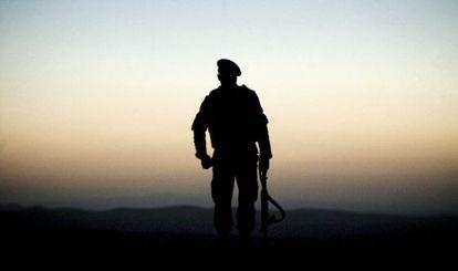Un soldado en Qala-i-Naw (Afganistán) en octubre de 2012.