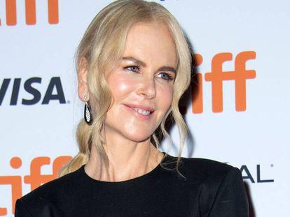 Nicole Kidman, en el Festival de Cine de Toronto, el pasado 11 de septiembre.