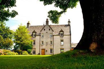 La casa original de Macallan.